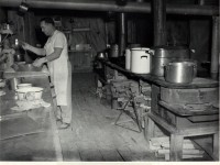 camp cooking in the 50 s