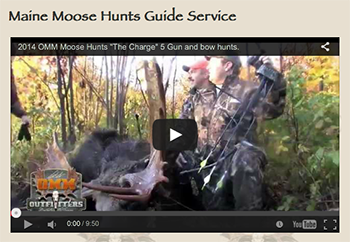 Maine Moose Hunts Guide Service, OMM Outfitters